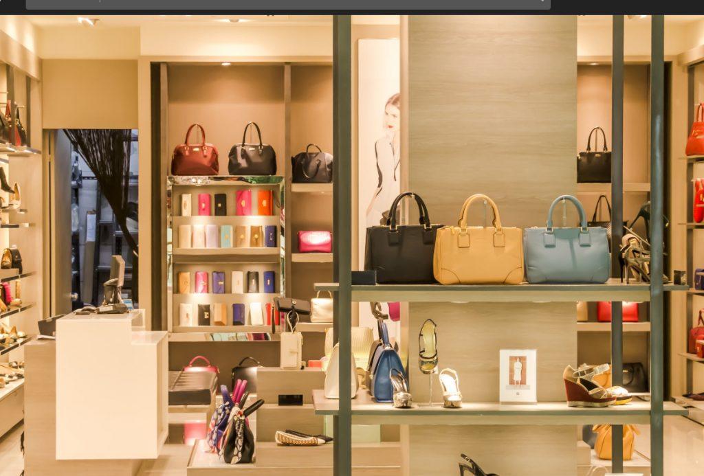 sklep z torebkami i butami dla kobiet
